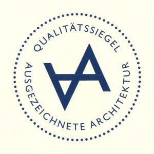 Qualitätssiegel Ausgezeichnete Architektur