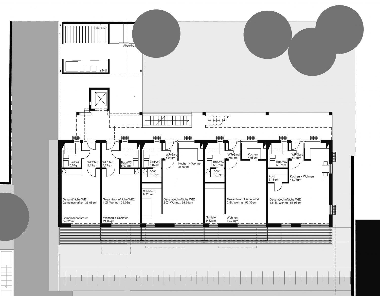 ZAG_Hofgarten-Karlsruhe_EG_Grünenwald + Heyl . Architekten