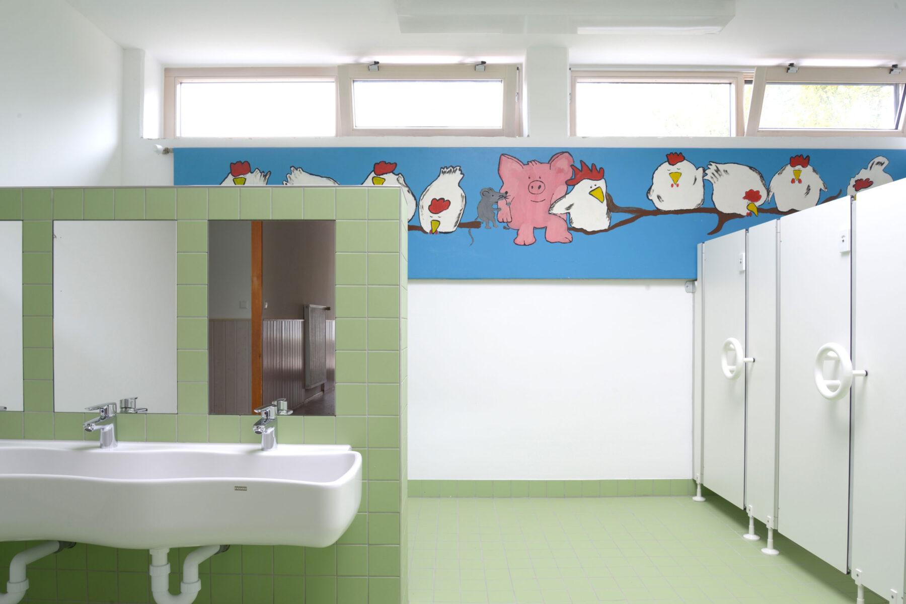 Neue Toilettenanlage